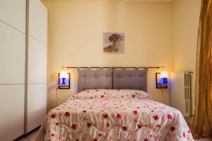 Letto o letti in una camera di Al Piropo affittacamere