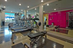 The fitness center and/or fitness facilities at Atlantic Station Homes