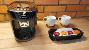 Coffee and tea-making facilities at Flaminio Smart Sleep