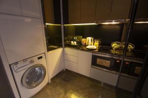 A kitchen or kitchenette at Fraser Place Puteri Harbour