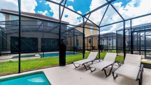 Bazén v ubytování Magical Dreams nebo v jeho okolí