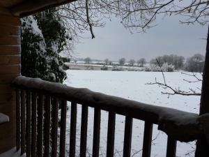 L'établissement La Cabane aux Secrets - Au Milieu de Nulle Part en hiver