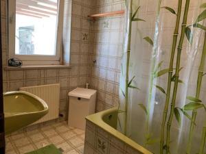 Ein Badezimmer in der Unterkunft 2 Zimmer Wohnung im grünen Herzen von Salzburg