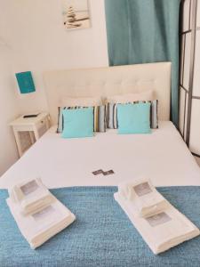 Säng eller sängar i ett rum på Charm Discovery Braul