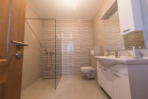 A bathroom at Luxurious Penthouse Apartment
