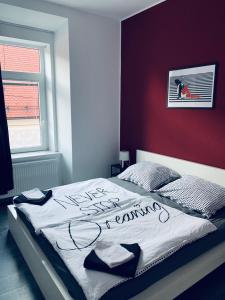 Postelja oz. postelje v sobi nastanitve Apartment V8
