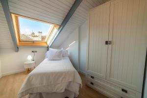 Cama o camas de una habitación en Palacio del Agua Apartamentos