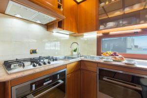 Küche/Küchenzeile in der Unterkunft Cagliari Upper House