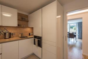 Küche/Küchenzeile in der Unterkunft Apartment Villa Leopoldskron