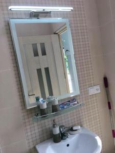 A bathroom at Внаем дом по соседству с Каскадом
