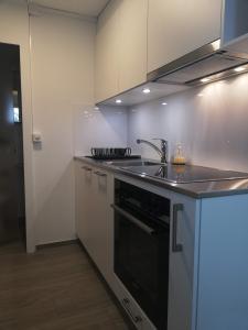 Küche/Küchenzeile in der Unterkunft Meiringen Studio für 2 Personen