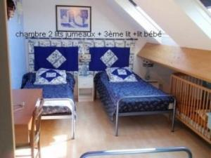 Un ou plusieurs lits dans un hébergement de l'établissement House Ancinnes - 6 pers, 120 m2, 4/3 1