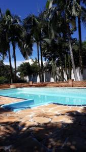 The swimming pool at or near Recanto Nossa Senhora