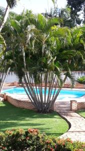 Πισίνα στο ή κοντά στο Recanto Nossa Senhora