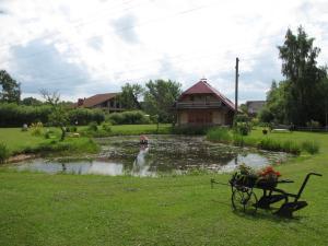 A garden outside Laba Oma