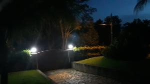 A garden outside Recanto Nossa Senhora