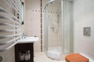 Łazienka w obiekcie Bellamonte Aparthotel
