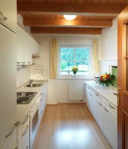 Küche/Küchenzeile in der Unterkunft Domizil Zillertal