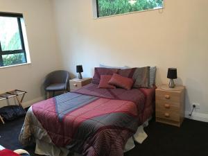 Postel nebo postele na pokoji v ubytování Peaceful Rural Retreat