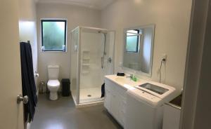 Koupelna v ubytování Peaceful Rural Retreat
