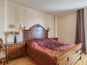 Postel nebo postele na pokoji v ubytování Libušina Residence