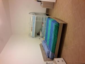A bunk bed or bunk beds in a room at Appartamento Valle dei Templi
