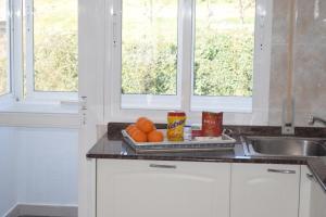 A kitchen or kitchenette at La Casa de Manuel