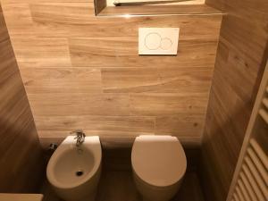 A bathroom at Appartamento signorile
