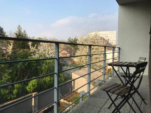 Balkón alebo terasa v ubytovaní Vila RIVIERA
