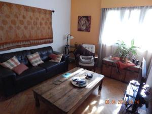 A seating area at Luminoso y amplio apartamento de 90 m² en Punta Carretas