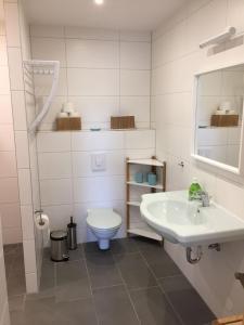 Ein Badezimmer in der Unterkunft Ferienhaus LOOP IN