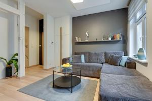 A seating area at Baltic Sun Luxurious Apartment - Monte Cassino