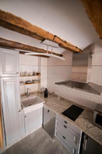 Una cocina o zona de cocina en El Zaguán