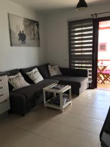 A seating area at Sun Beach Bungalows
