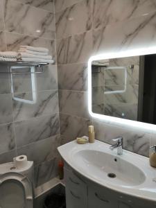 Ванная комната в Апарт Отель