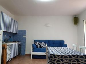 Area soggiorno di Casa Cabina