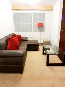 A seating area at terrapartment