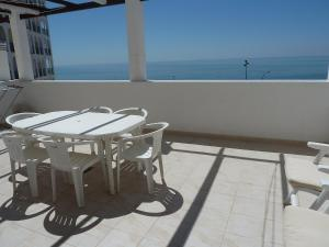 A balcony or terrace at Apartment Edificioo Sun Ray