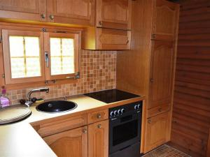 Küche/Küchenzeile in der Unterkunft Apartment Ismene, Chalet