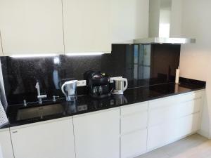 A kitchen or kitchenette at Apartment Fontavia