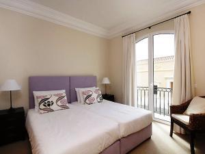 Cama o camas de una habitación en Apartment Village 3 bed sea view
