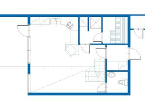 Apgyvendinimo įstaigos Holiday Home Kuerkartano 2/sulo aukšto planas