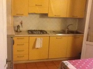 Een keuken of kitchenette bij Room to the center of Florence