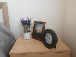 Televízia a/alebo spoločenská miestnosť v ubytovaní Comfort Terrace Apartment
