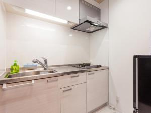 Liitle Island Okinawa 名護にあるキッチンまたは簡易キッチン