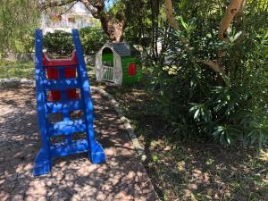 De kinderspeelruimte van Residence Verdemare