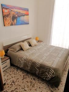 Cama ou camas em um quarto em Casa Aurora