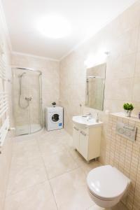 A bathroom at Apartament 3d Szczecin