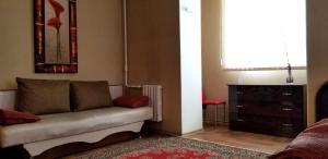 Гостиная зона в Apartment Tiraspol on Lenina 7