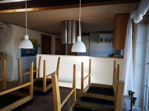 A kitchen or kitchenette at Holiday Home Spadserevej 12
